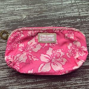 Lilly Pulitzer for Estee Lauder Floral Makeup Bag